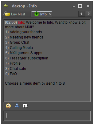 Mxit Chat Login